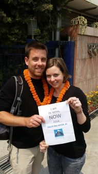 Karlijn en Bert in Nepal